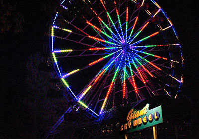 skywheel night