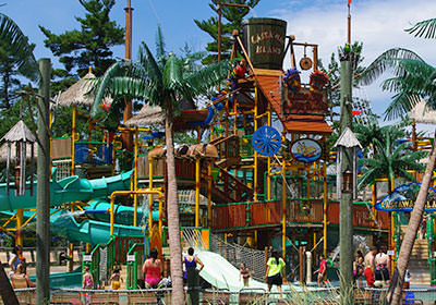 Castaway Island & Water Rides | Canobie Lake Park