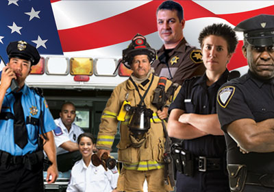 First Responders Web Graphic