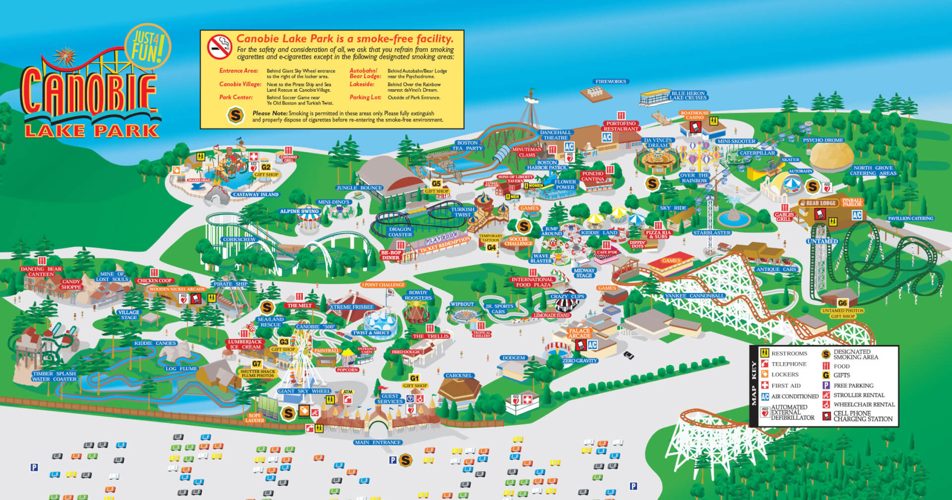 Click here to download  sc 1 st  Canobie Lake Park & Park Map | Canobie Lake Park