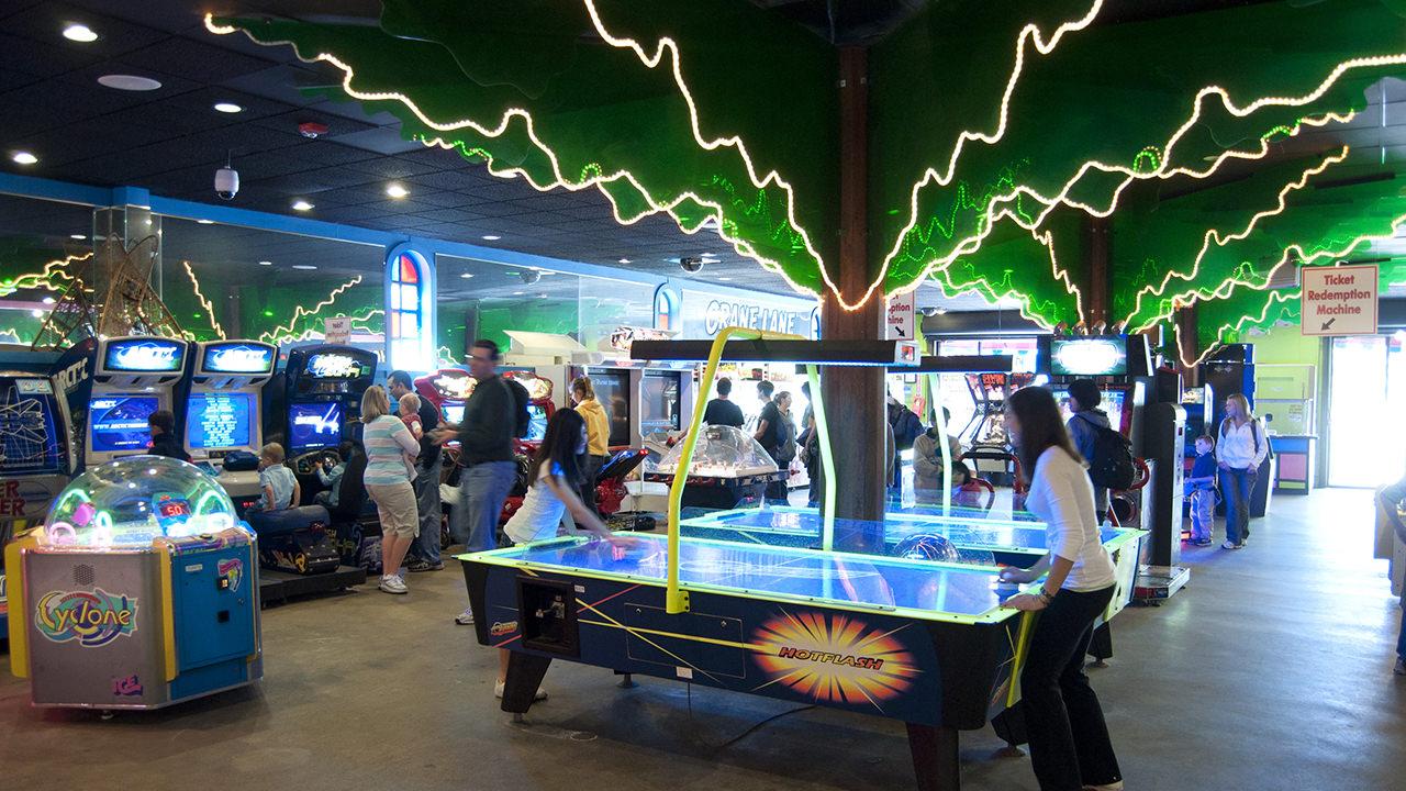 Canobie Lake Park Main Arcade