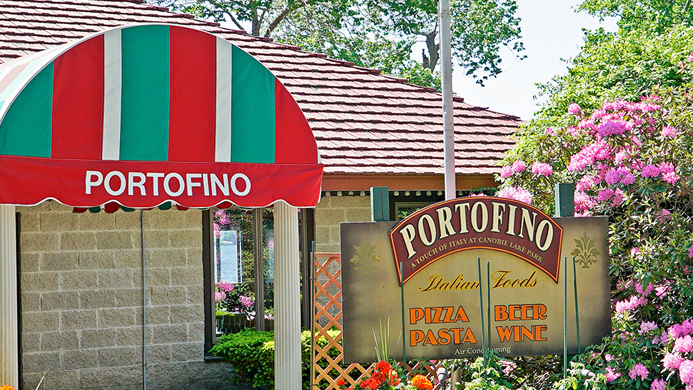 Portofino food venue at Canobie Lake Park.