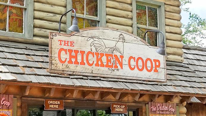 Chicken Coop at Canobie